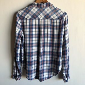 Anthropologie Tops - Anthropologie Cloth & Stone plaid flannel shirt